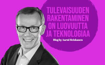 Tulevaisuuden rakentaminen on luovuutta ja teknologiaa
