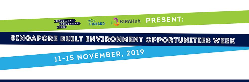 Singapore Built Environment Opportunities Week