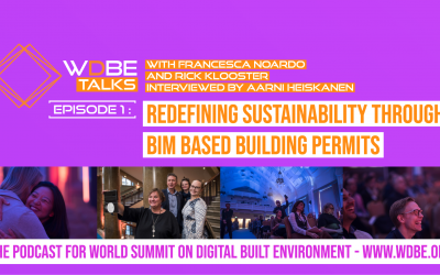 WDBE-talks: Redefining sustainability through BIM Based Building Permits