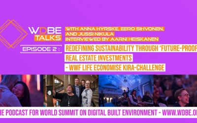 WDBE-talks: Redefining Sustainability Through Future-Proof Real Estate Investments