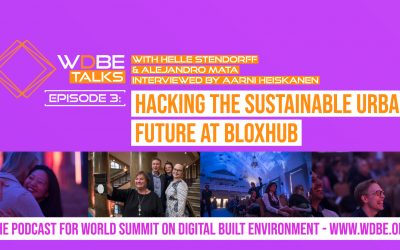 WDBE-talks: Hacking the Sustainable Urban Future at BLOXHUB
