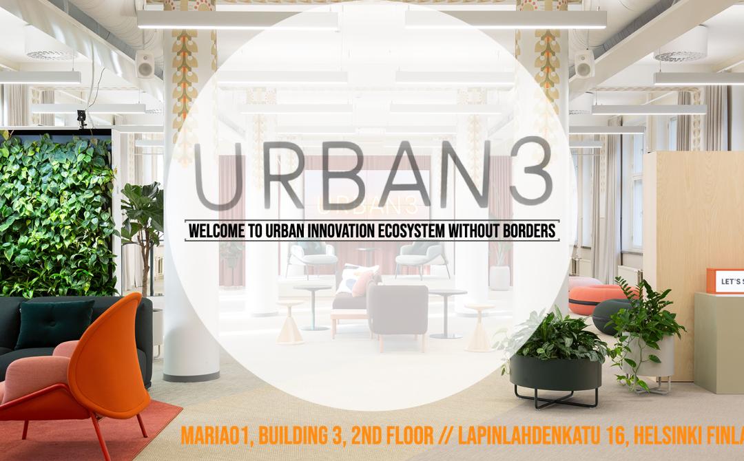 TIEDOTE: Urban3 – uusi kotimaisen rakennetun ympäristön innovaatiokeskittymä