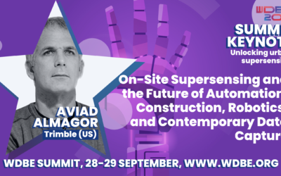 On-Site Supersensing and the Future of Automation: Discussing Construction, Robotics, and Contemporary Data Capture with Aviad Almagor