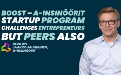 BOOST – A-Insinöörit startup program challenges entrepreneurs but peers also